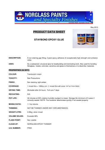 staybond epoxy glue