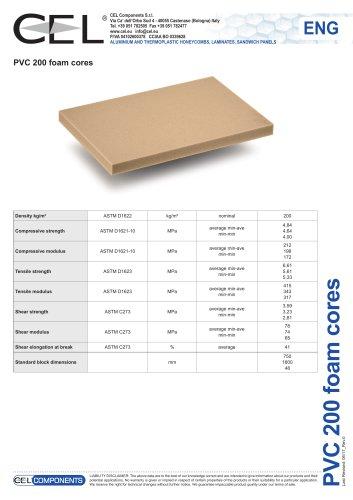 PVC foam 200