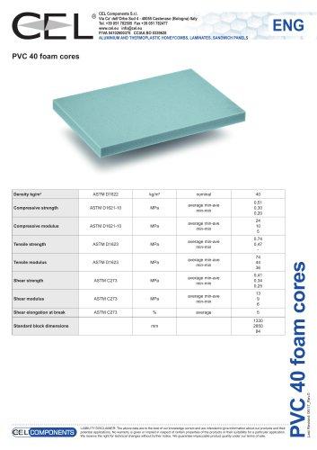 PVC foam 40