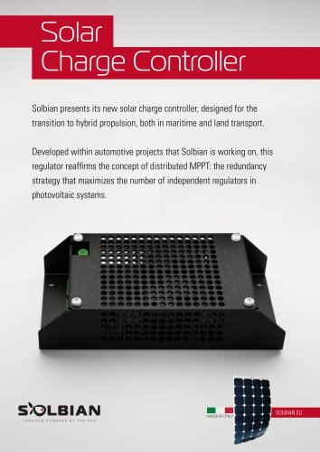 Solbian Charge Controller