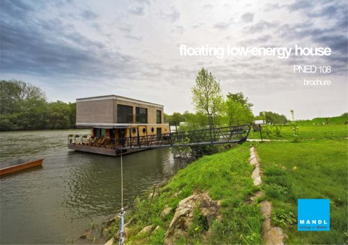Floating house PNED 108 - MANDL - Living on Water, Ltd