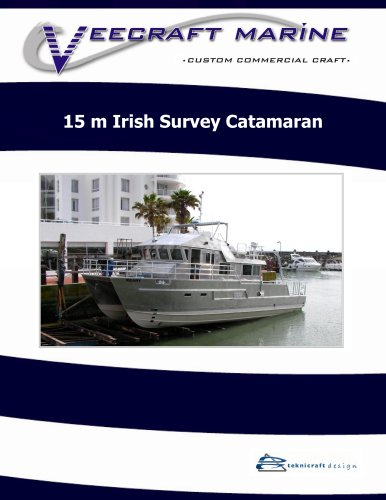 15 m Irish Survey Catamaran