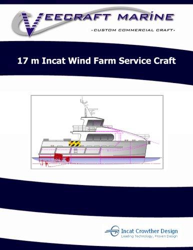 17 m Incat Wind Farm Service Craft