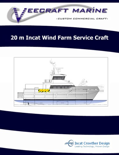 20 m Incat Wind Farm Service Craft