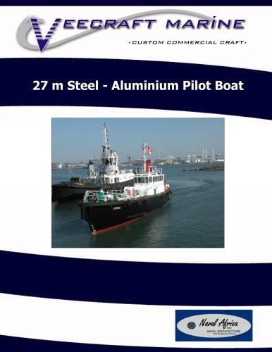 27 m aluminium pilot boat 2010