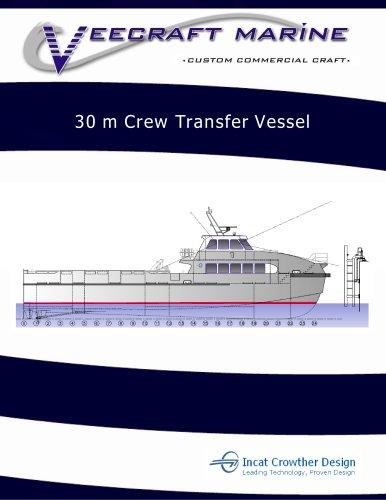 30m Veecraft Crew Transfer Vessel