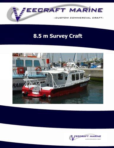 8.5 m Survey Craft
