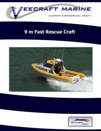 9 m Fast Rescue Craft