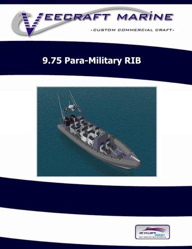 9.75 Para-Military RIB