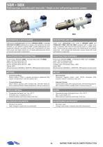 SBR-SBX AINGLE SCREW SELF-PRIMING ELECTRIC PUMPS - 1