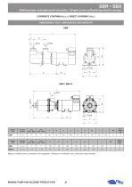 SBR-SBX AINGLE SCREW SELF-PRIMING ELECTRIC PUMPS - 4
