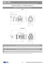 SBR-SBX AINGLE SCREW SELF-PRIMING ELECTRIC PUMPS - 7