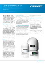 SAILOR 60 Satellite TV