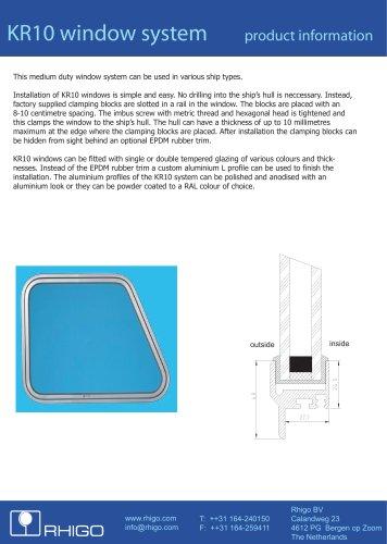 KR10 window system