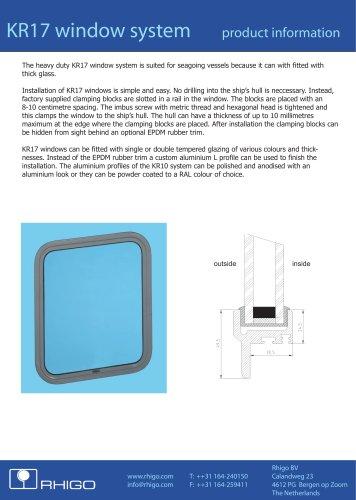 KR17 window system