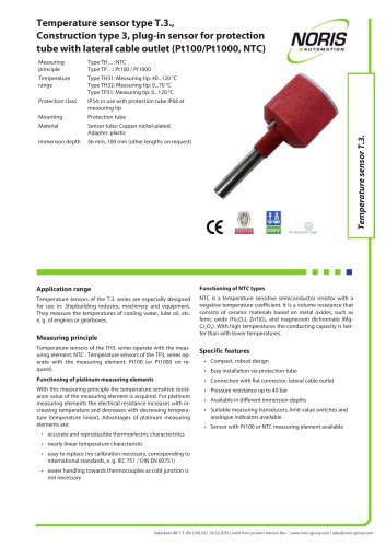Datasheet TP31 TH31