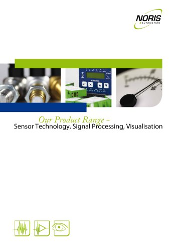 sensors, signal processing and visualisation