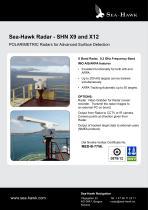 Sea-Hawk Radar - SHN X9 and X12