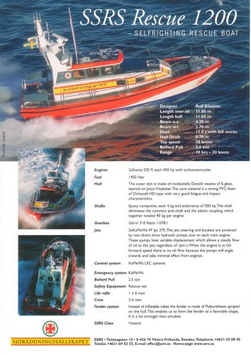 12 m Rescue Vessel