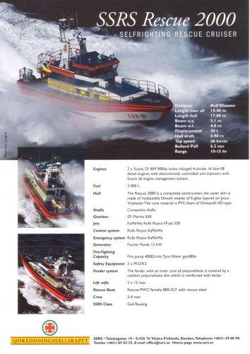 20 m Rescue Vessel