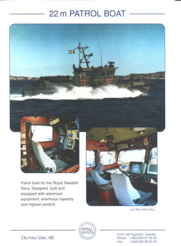 22 m Patrol Boat