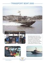 24 m Transport Boat 2000