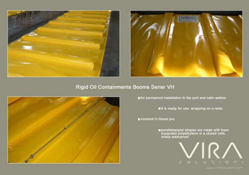 VH rigid oil booms