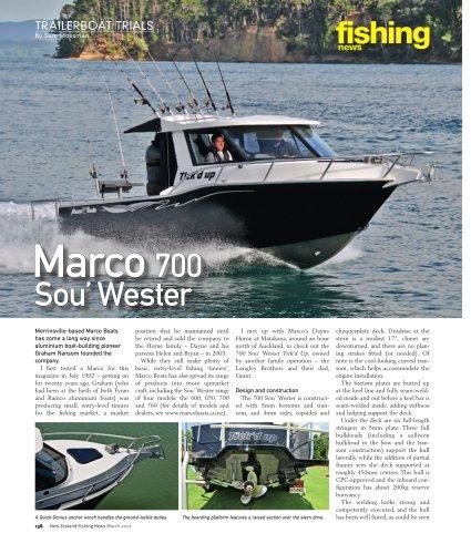 Marco 700 Sou Wester