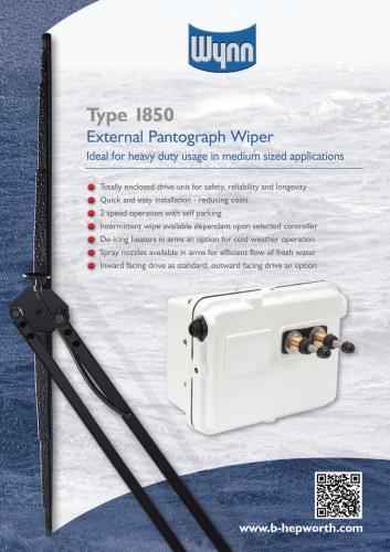 Wynn Type 1850 External Pantograph Wiper