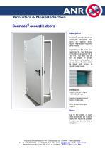 Soundac acoustic doors - 1