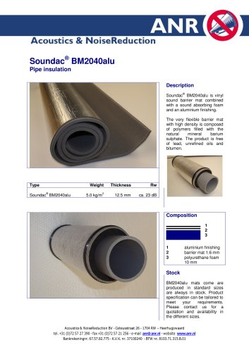 Soundac BM2040alu