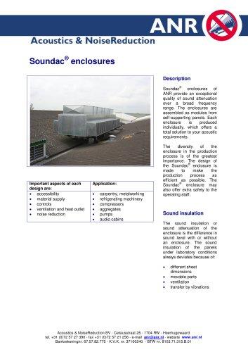 Soundac enclosures