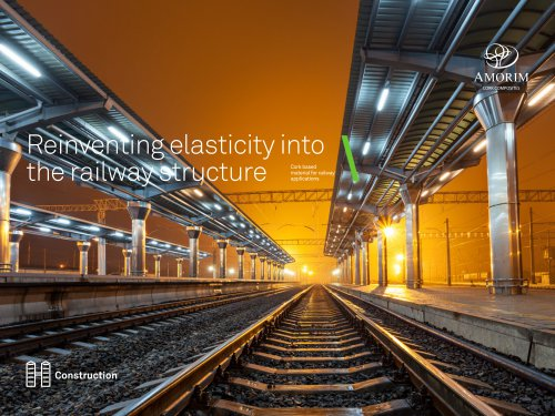 Reinventing elasticity into the railway structure