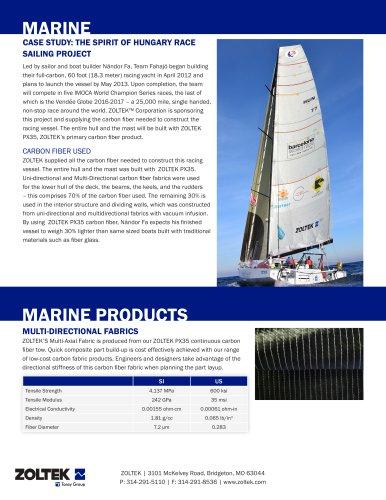 Marine Sales Sheet