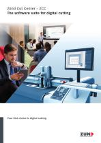 Zünd Cut Center – ZCC The software suite for digital cutting