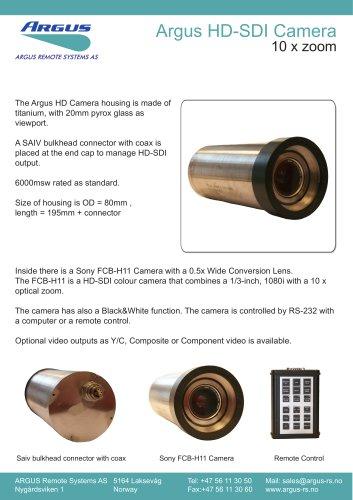 Argus HD-SDI Camera