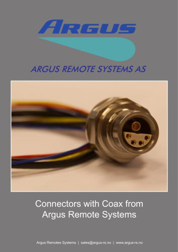 Connectors with Coax