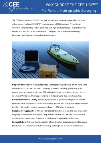 CEE Hydrosystem CEE-USV™