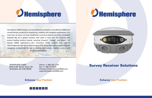 Survey Receiver Solutions Brochure