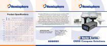 Vector Series GNSS Compass Solutions Brochure
