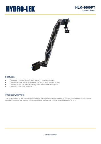HLK-4600PT - Camera Boom with Pan & Tilt