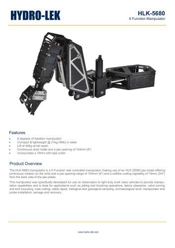 HLK-HD6W - 6-Function HD Manipulator