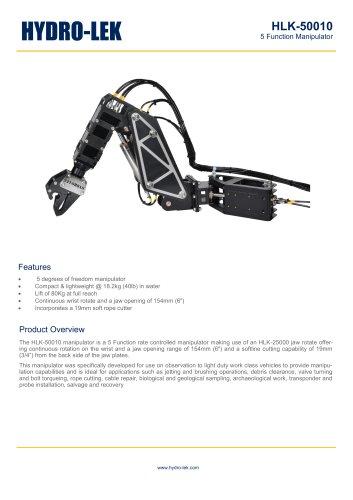 HLK-RHD5 - 5-Function HD Manipulator