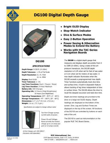 DG100 Digital Depth Gauge