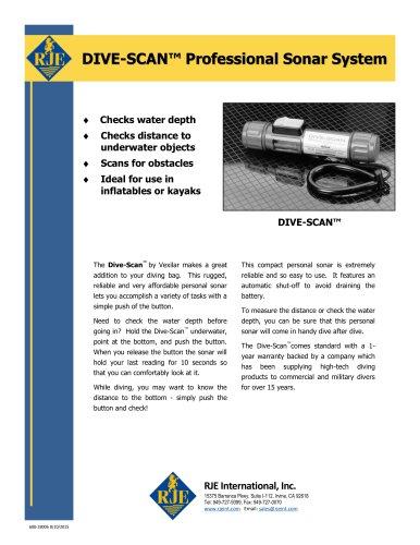 DIVE-SCAN™ Professional Sonar System