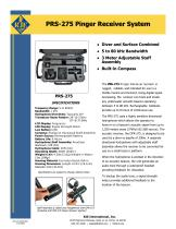 PRS-275 Pinger Receiver System Date Sheet