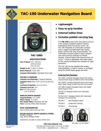 TAC-100 Underwater Navigation Board