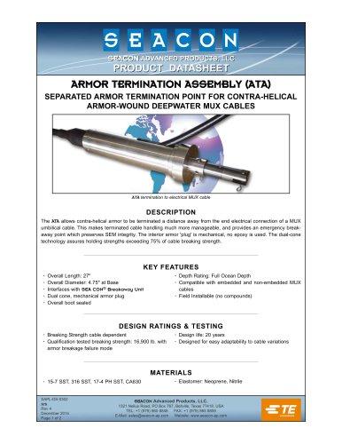 ARMOR TERMINATION ASSEMBLY (ATA)