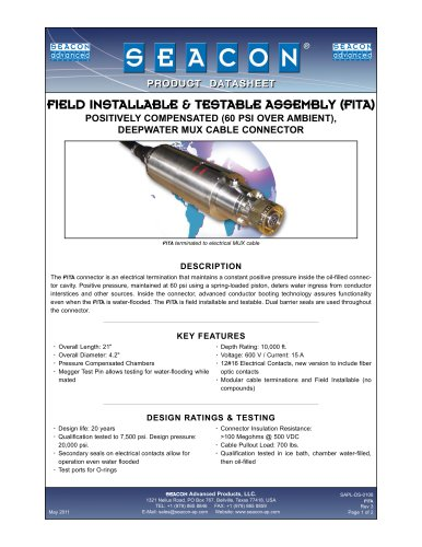 SAPL-DS-0108 FITA Rev 3