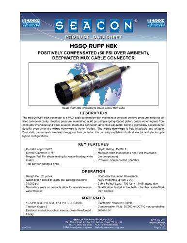 SAPL-DS-0111 MSSQ RUFF-NEK Rev 3